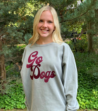 "Load image into Gallery viewer, Comfort Colors ""Go Dogs"" Sweatshirt"