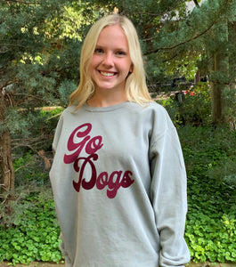 "Comfort Colors ""Go Dogs"" Sweatshirt"