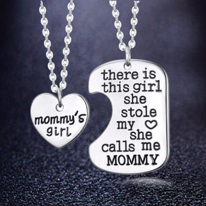 Mommy's Girl Necklace Set