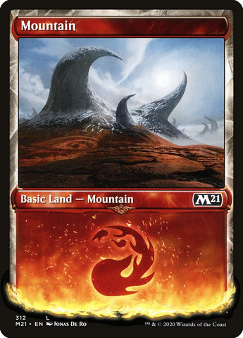 Mountain (Showcase) [Core Set 2021]