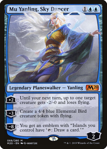 Mu Yanling, Sky Dancer [Core Set 2020]