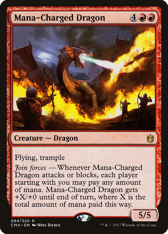 Mana-Charged Dragon [Commander Anthology]