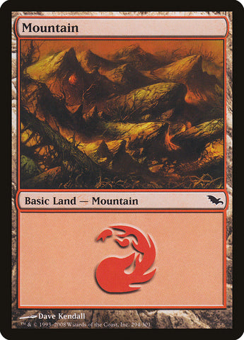 Mountain (294) [Shadowmoor]