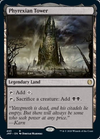 Phyrexian Tower [Jumpstart]