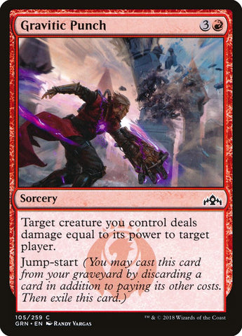 Gravitic Punch [Guilds of Ravnica]