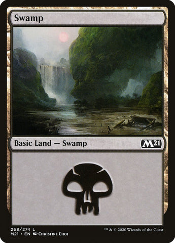 Swamp (268) [Core Set 2021]