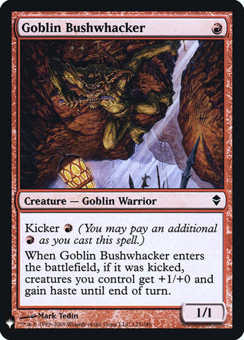 Goblin Bushwhacker [Mystery Booster: Retail Exclusives]