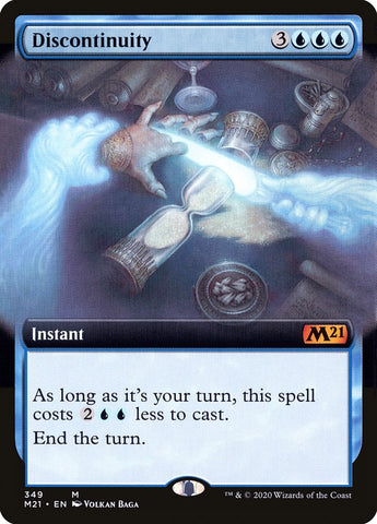 Discontinuity (Extended Art) [Core Set 2021]
