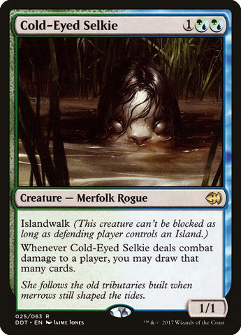 Cold-Eyed Selkie [Duel Decks: Merfolk vs. Goblins]