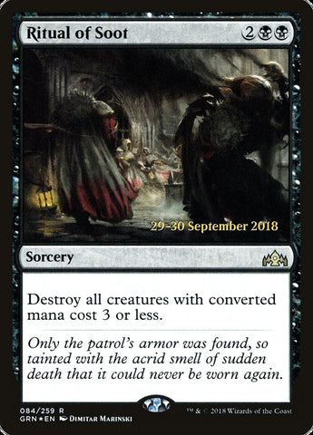 Ritual of Soot [Prerelease Cards]