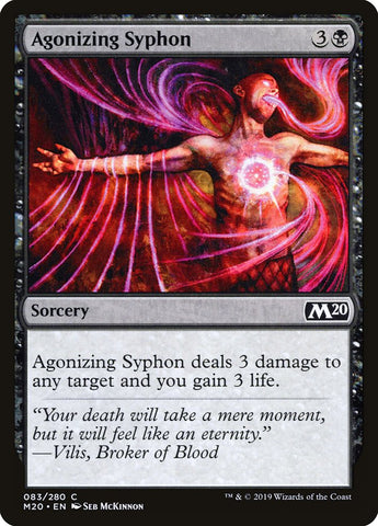 Agonizing Syphon [Core Set 2020]