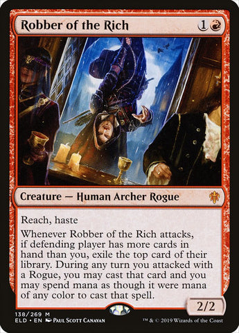 Robber of the Rich [Throne of Eldraine]