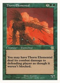 Thorn Elemental (Oversized) [Oversize Cards]