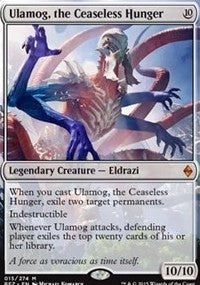 Ulamog, the Ceaseless Hunger [Battle for Zendikar]