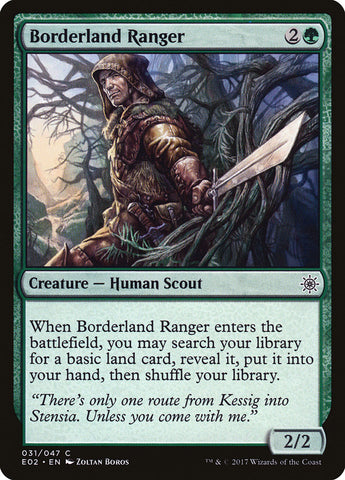 Borderland Ranger [Explorers of Ixalan]