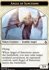 Angel of Sanctions // Drake Token [Amonkhet]