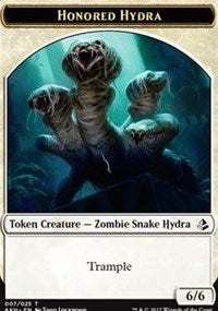 Honored Hydra // Warrior Token [Amonkhet]