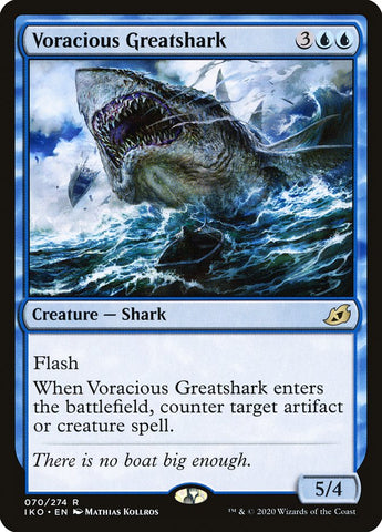 Voracious Greatshark [Ikoria: Lair of Behemoths]