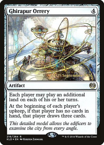 Ghirapur Orrery [Prerelease Cards]