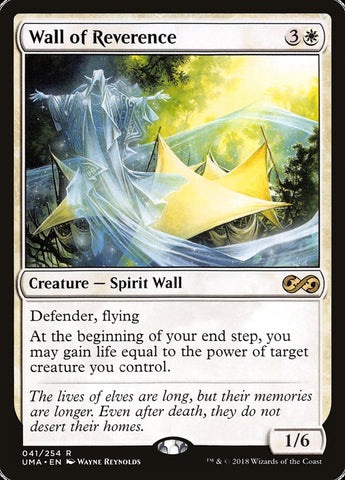 Wall of Reverence [Ultimate Masters]