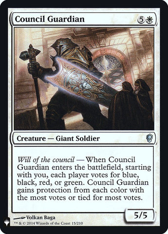 Council Guardian [Mystery Booster: Retail Exclusives]