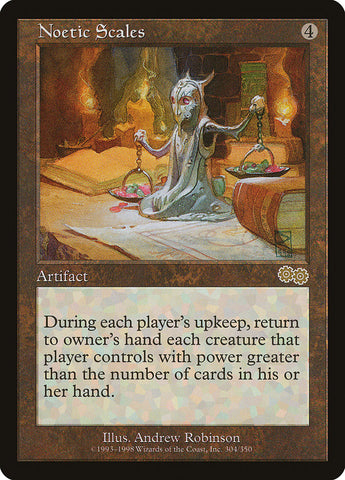 Noetic Scales [Urza's Saga]