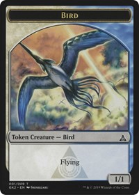 Bird // Thopter Token [Ravnica Allegiance: Guild Kits]