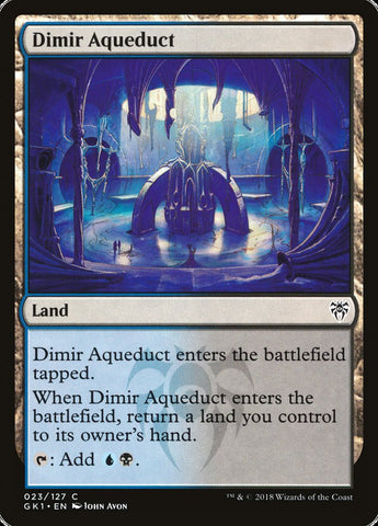 Dimir Aqueduct [Guilds of Ravnica: Guild Kits]