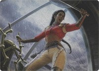 Sisay, Weatherlight Captain (Art Series) [Art Series: Modern Horizons]