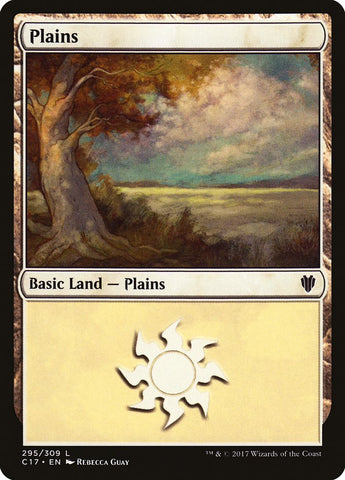 Plains (295) [Commander 2017]