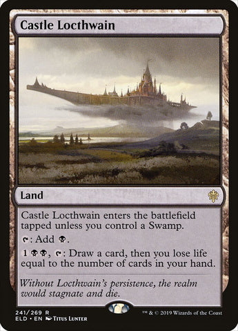 Castle Locthwain [Throne of Eldraine]