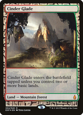 Cinder Glade [Zendikar Expeditions]