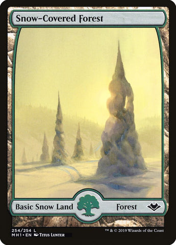 Snow-Covered Forest [Modern Horizons]