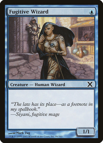 Fugitive Wizard [10th Edition]