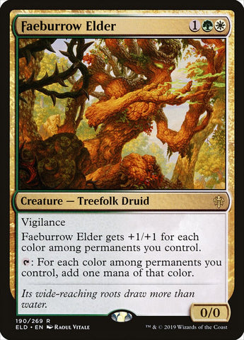 Faeburrow Elder [Throne of Eldraine]