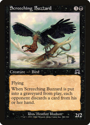 Screeching Buzzard [Onslaught]