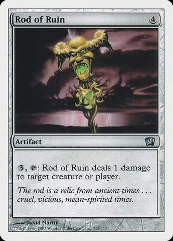 Rod of Ruin [8th Edition]