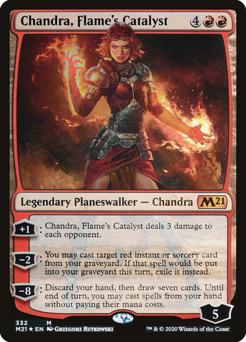 Chandra, Flame's Catalyst [Core Set 2021]