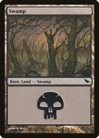 Swamp (292) [Shadowmoor]