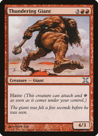 Thundering Giant [10th Edition]