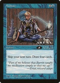 Meditate (4th Place) (Oversized) [Oversize Cards]