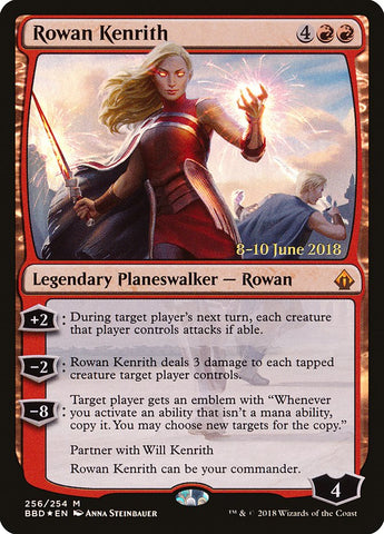 Rowan Kenrith [Launch Party & Release Event Promos]
