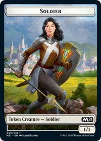 Soldier Token [Core Set 2021]