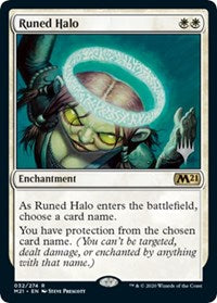 Runed Halo [Promo Pack: Core Set 2021]