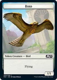 Bird // Cat (020) Double-sided Token [Core Set 2021]