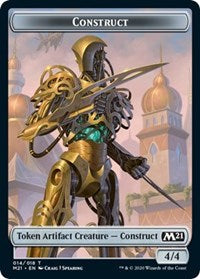 Construct // Soldier Double-sided Token [Core Set 2021]