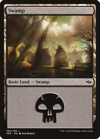 Swamp (180) [Fate Reforged]