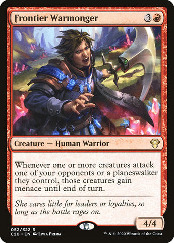 Frontier Warmonger [Commander 2020]