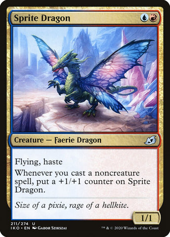 Sprite Dragon [Ikoria: Lair of Behemoths]