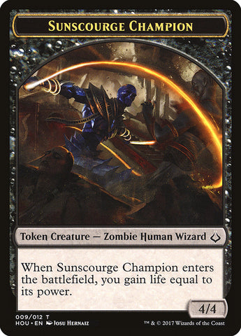 Sunscourge Champion Token [Hour of Devastation]